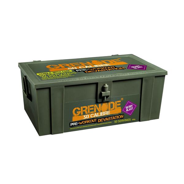 Grenade 50 Calibre Workout - 50 servis