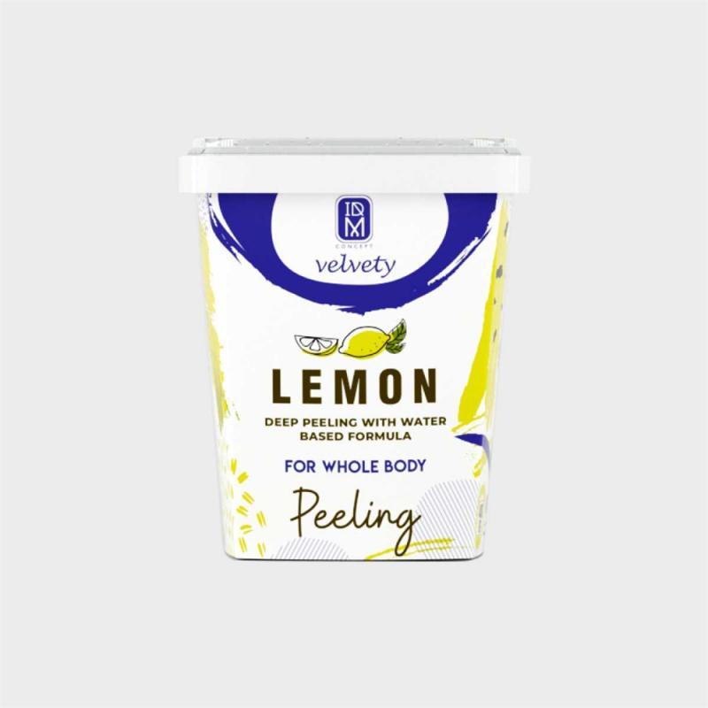 Idm Velvety Concept Lemon Vücut Peelingi 400 ml