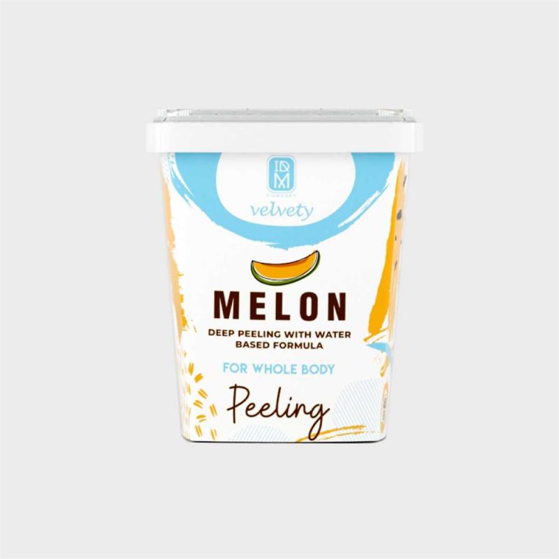 IDM Velvety Melon Kavunlu Yağ Bazlı 400 ml Vücut Peelingi